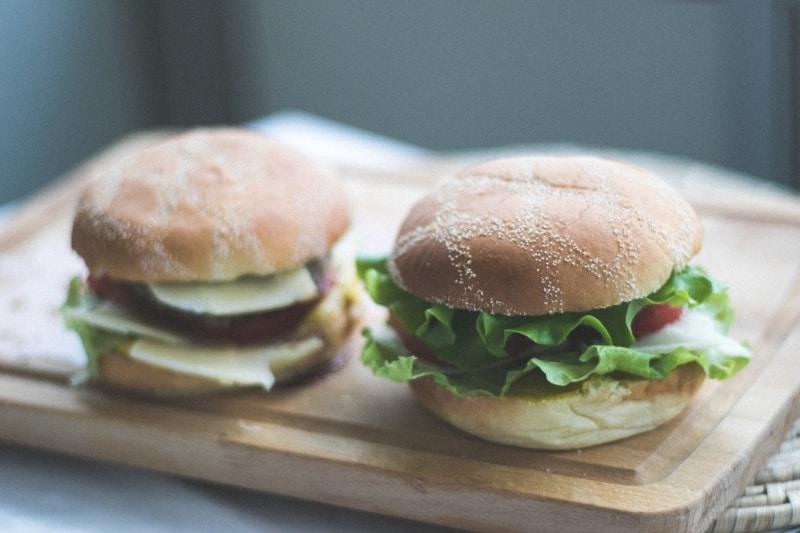 Lunch to work idea: Turkey burger