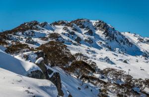Kosciuszko winter mountains