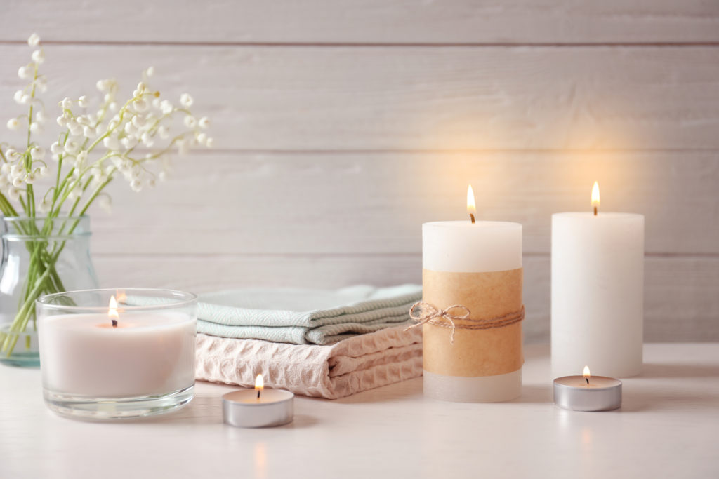 Home decorating ideas on a budget: incorporate candles