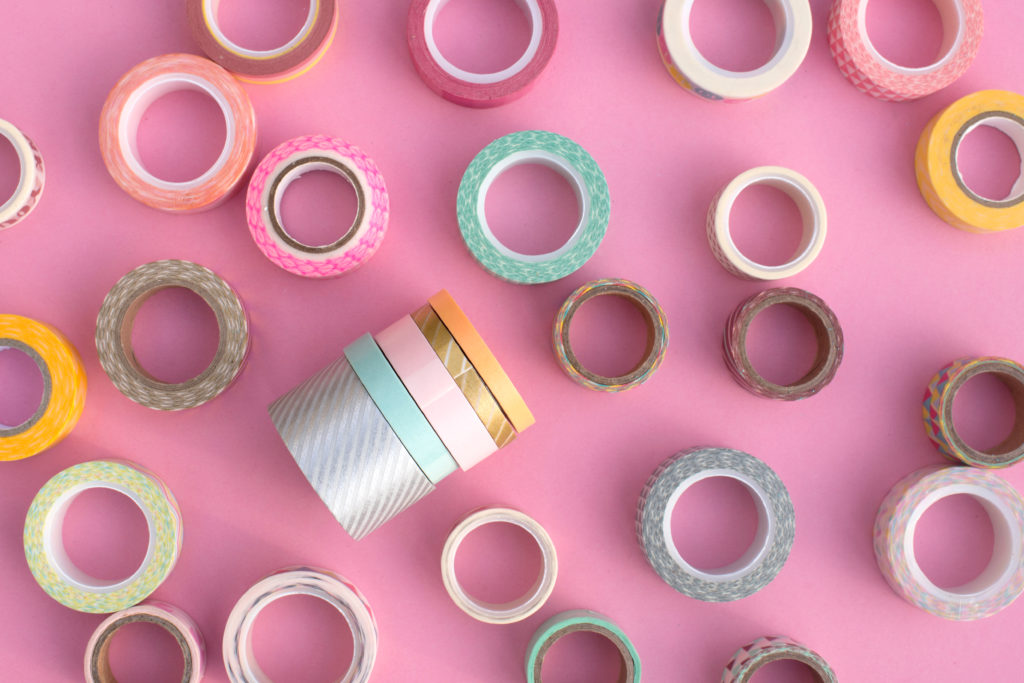 Home decorating ideas on a budget: design with washi tape