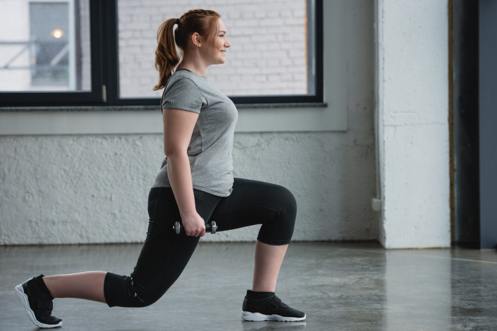 home workouts: lunges