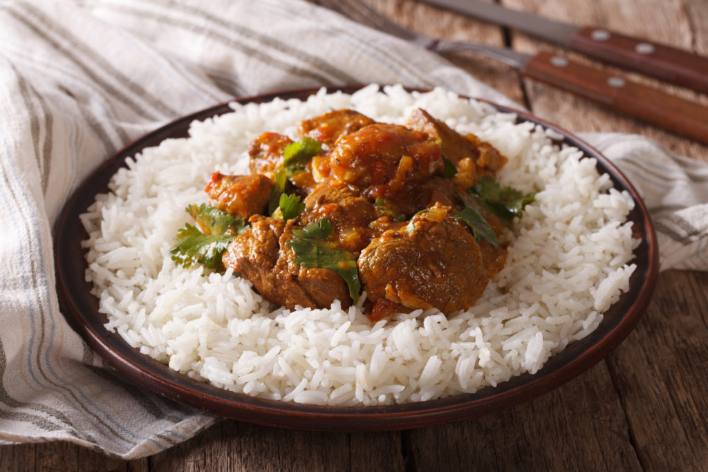best slow cooker meals: Indian madras curry
