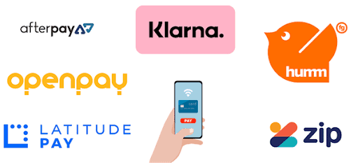 5 Tips To Make The Most Out Of Buy Now Pay Later - a selection of by now pay later company logos