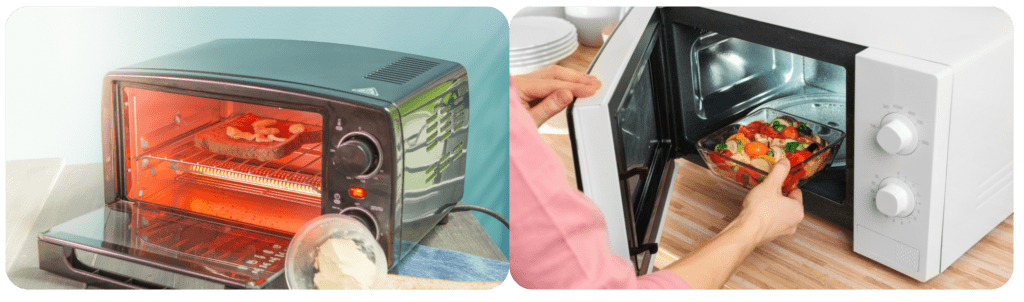 Microwave vs conventional oven vs air fryer | Swoosh Finance